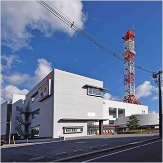 画像:山口朝日放送株式会社の外観