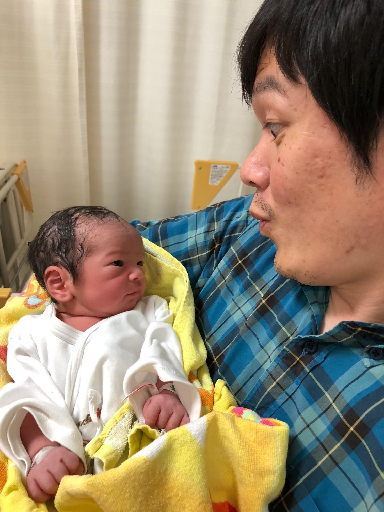 画像:Baby has come♪