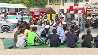 画像:山口県総合防災訓練