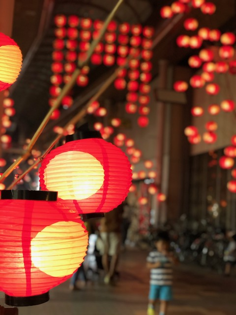 画像:山口七夕ちょうちん祭り
