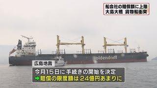 画像:山口・大島大橋への貨物船衝突で賠償手続き決定
