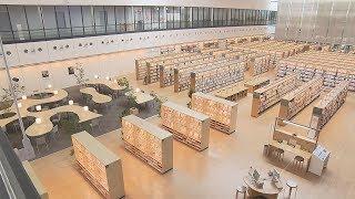 画像:山口市立中央図書館リニューアルオープン