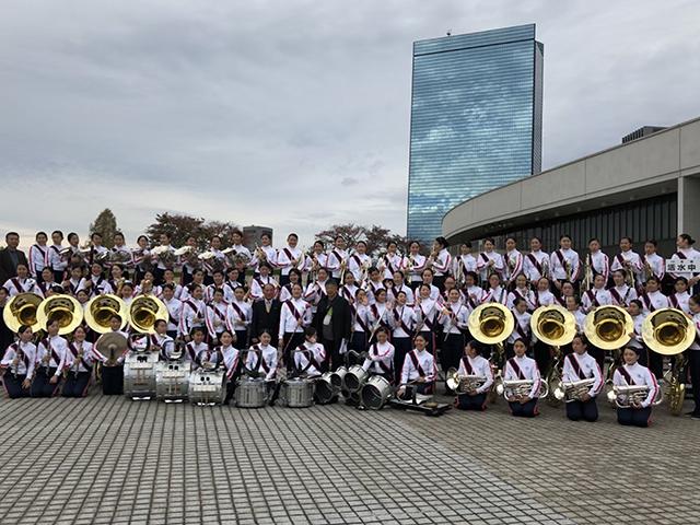 画像:第15回yab吹奏楽コンサート<br>活水中学・高等学校吹奏楽部
