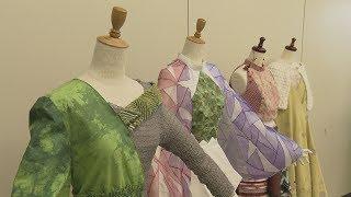 画像:高校生 創作ドレス日本一を報告