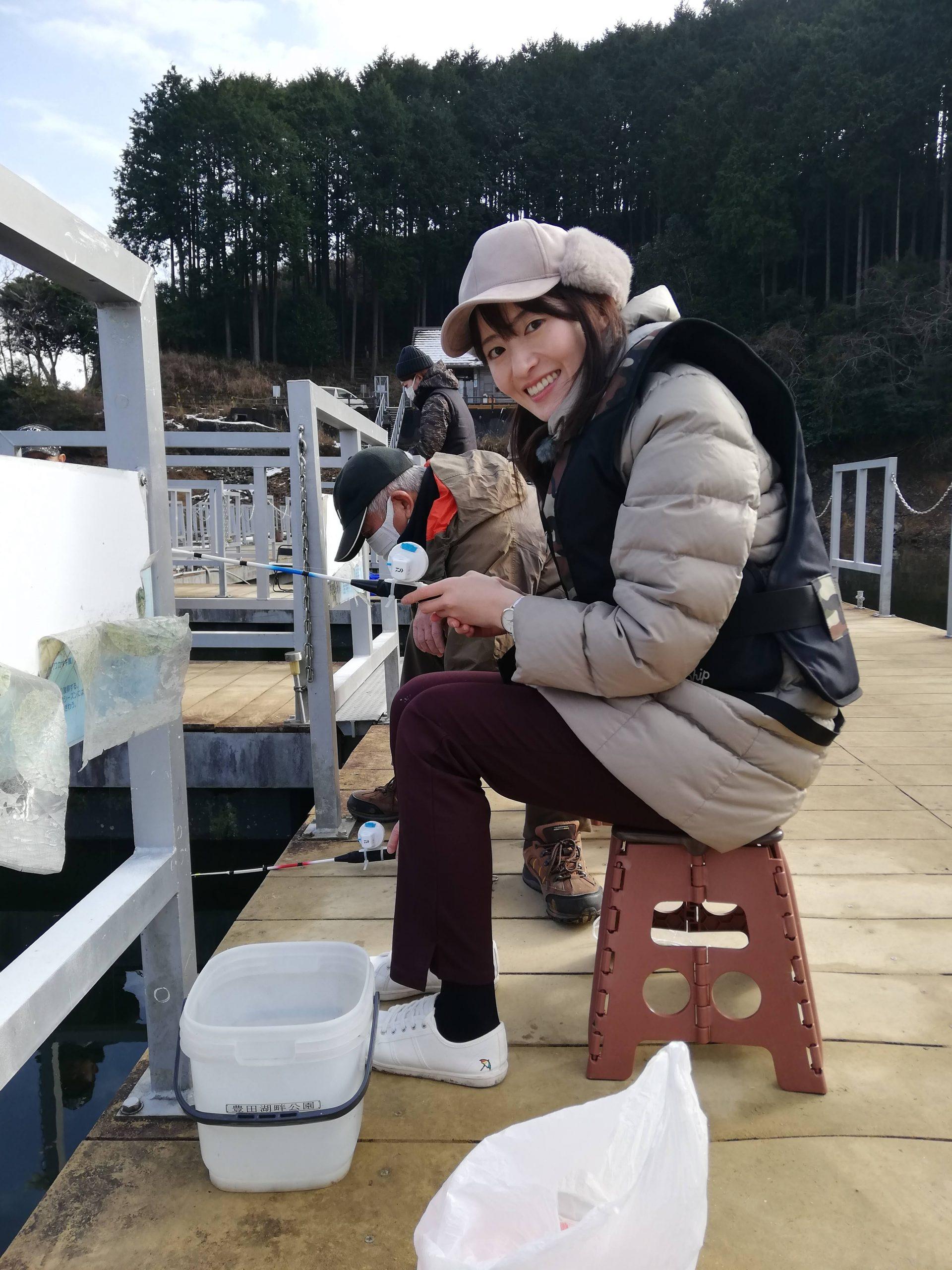 画像:ワカサギ釣り
