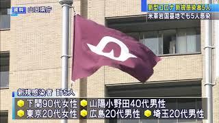 画像:【山口】県内の新規感染者 1月3日は計5人 帰省など3人の20代男女が感染 米軍岩国基地でも5人感染 基地内では累計100人に