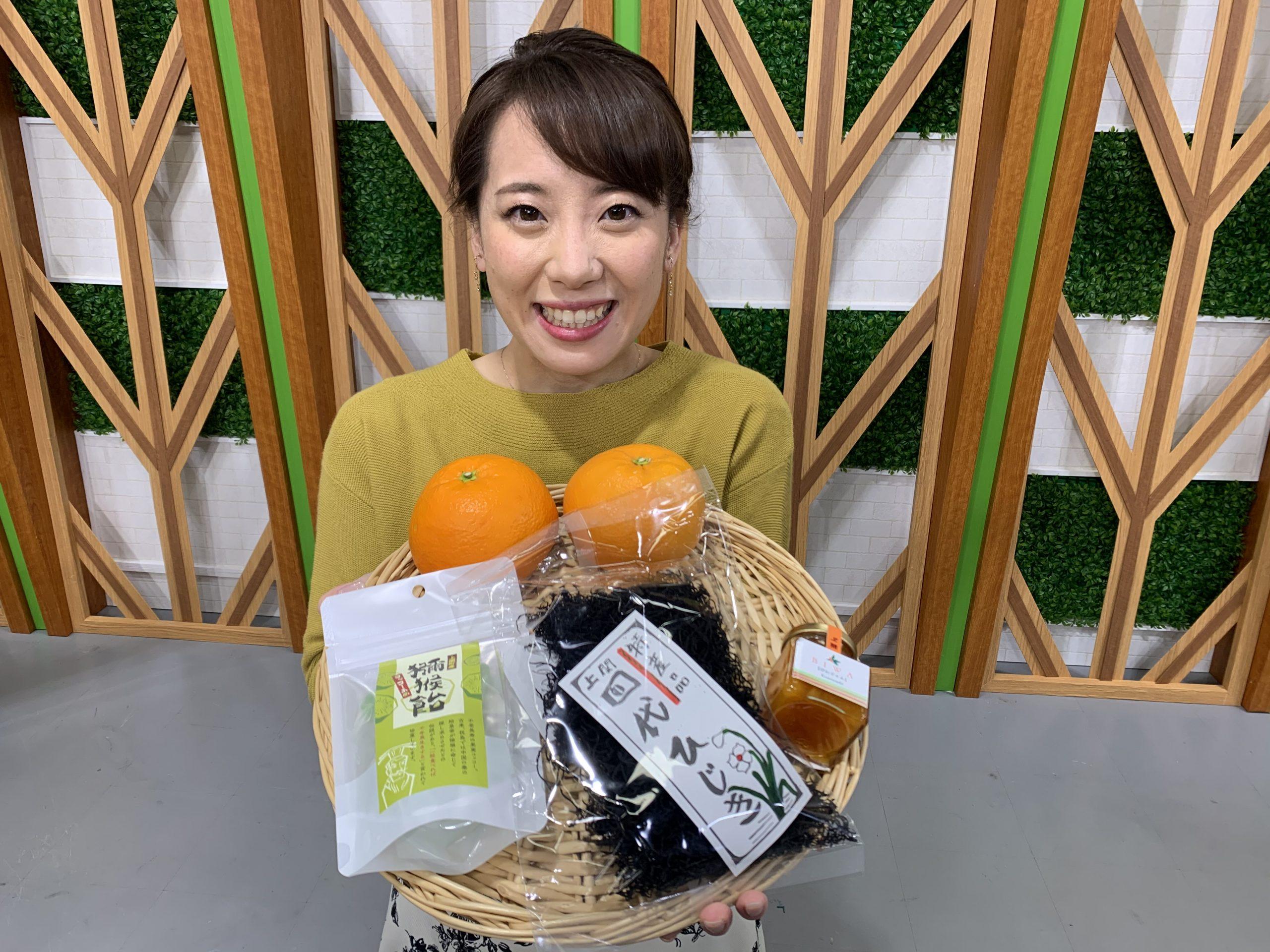 画像:上関町の特産品詰め合わせ♪
