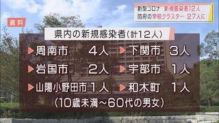 画像:コロナ新規感染12人 防府の学校クラスターは27人に