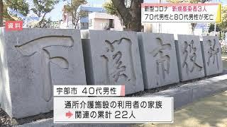 画像:山口県で新型コロナ3人感染 一桁は3日連続